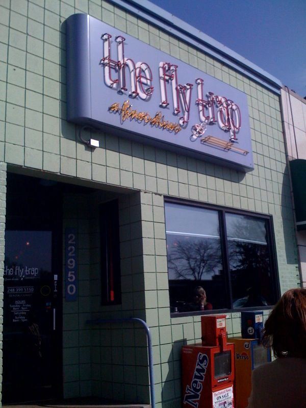 The Fly Trap Restaurant in Ferndale, Michigan