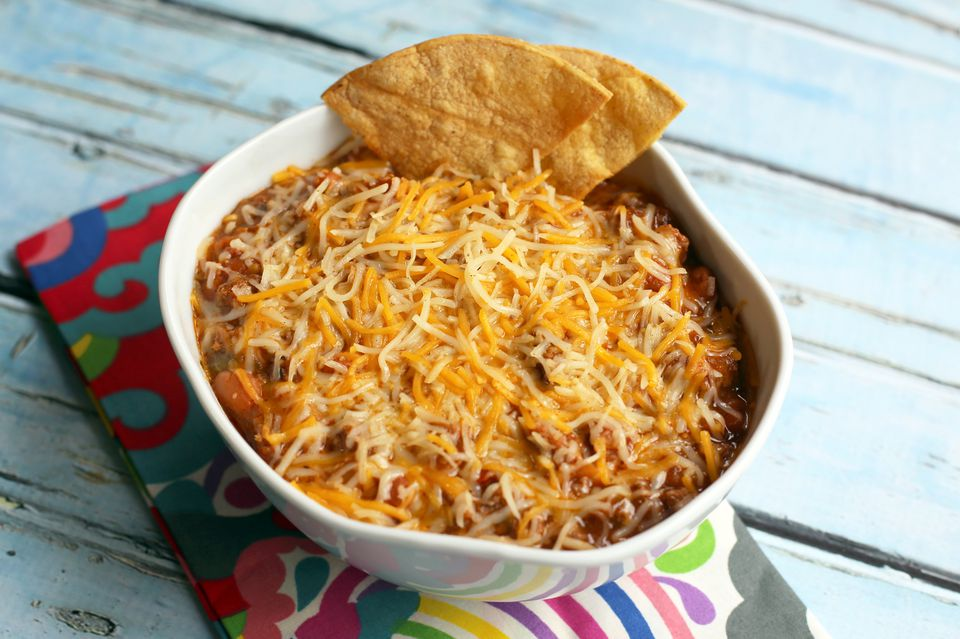 Beef and Bean Dip
