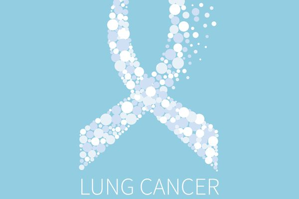lung cancer awareness ribbon
