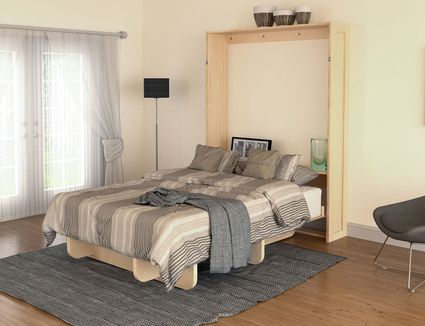 free up space with these 12 diy murphy beds small spaces - Design For Small Space