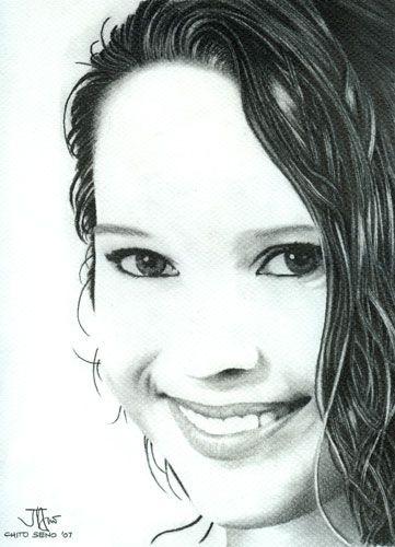 portrait by Chito Seno