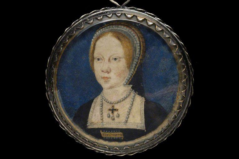 Mary I of England, ca 1521-1525. Artist: Lucas Horenbout.