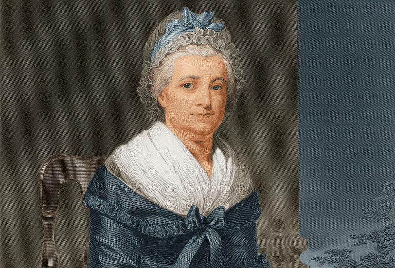 Martha Washington about 1790