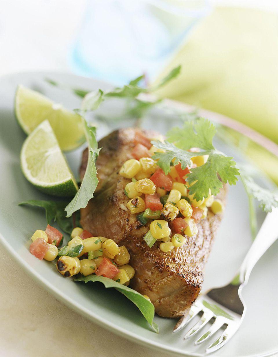 Lemon Pepper Grilled Tuna