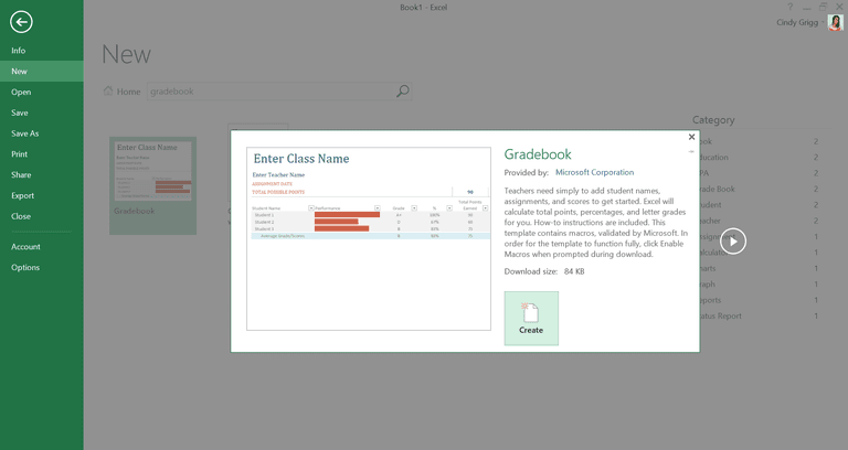 Free customizable templates for teachers from microsoft printable gradebook template for microsoft excel pronofoot35fo Images