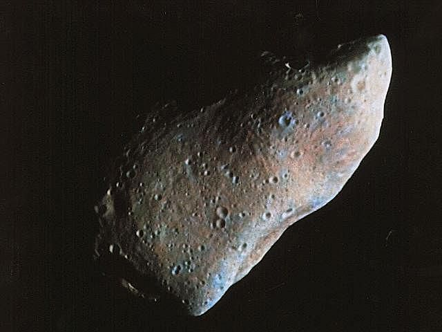 Asteroids Pictures Gallery - Gaspra - Galileo