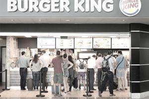 Burger King restaurant at Francisco Sá Carneiro Airport, Porto
