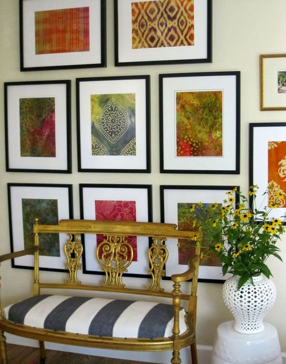 How to Frame a Piece of Fabric