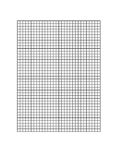 printable grid sheet