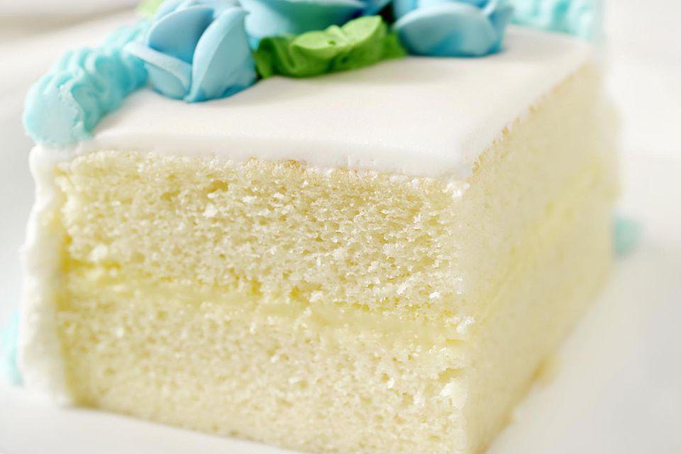 Slice of White Cake
