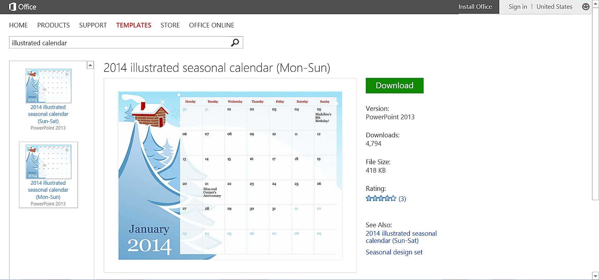 Customizable calendar templates for microsoft office toneelgroepblik Gallery