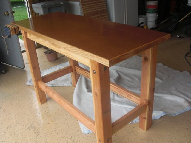 Easy Workbench Plan From Fine Woodworking