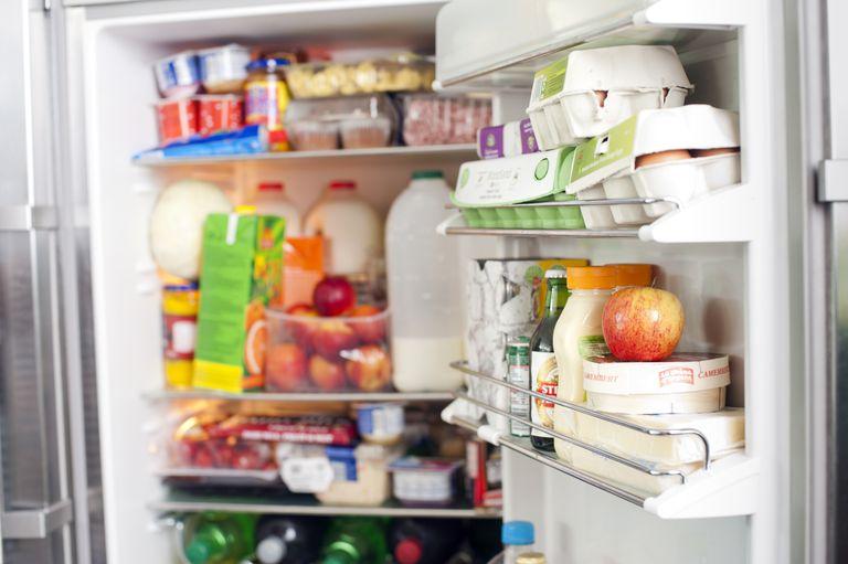 Contents of fridge