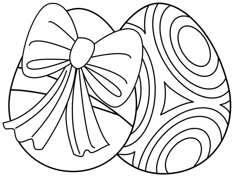 hello kids easter egg coloring pages - Easter Eggs Coloring Pages
