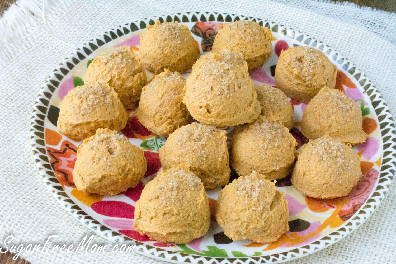 Sugar Free Vegan Pumpkin Truffles