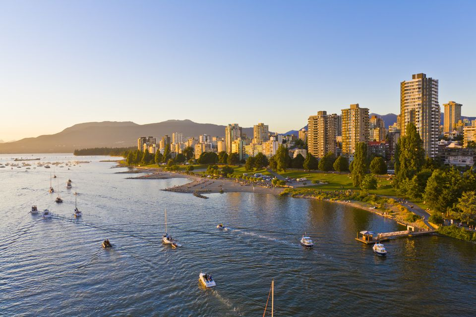 False Creek, West End, Sunset Beach, Vancouver