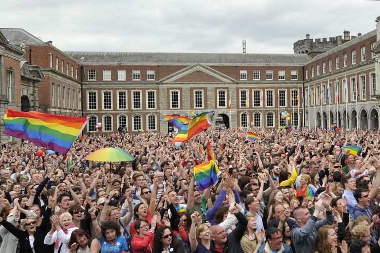 Gay Celebration In Ireland