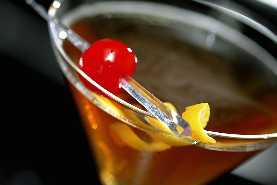 Game Set Match Cocktail Recipe - Whiskey Manhattan