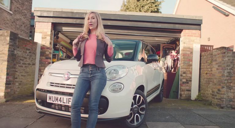 A picture from The Motherhood commercial