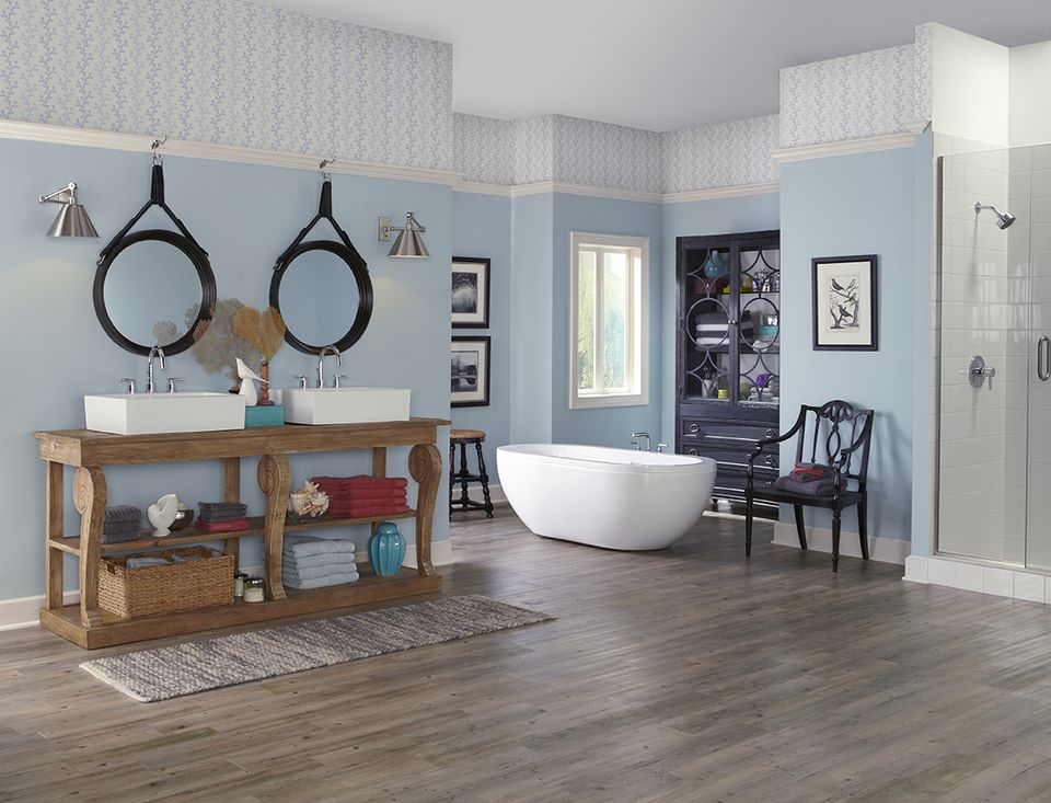 11 best neutral paint colors for your home for Watery paint color