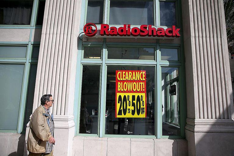 RadioShack blowout clearance