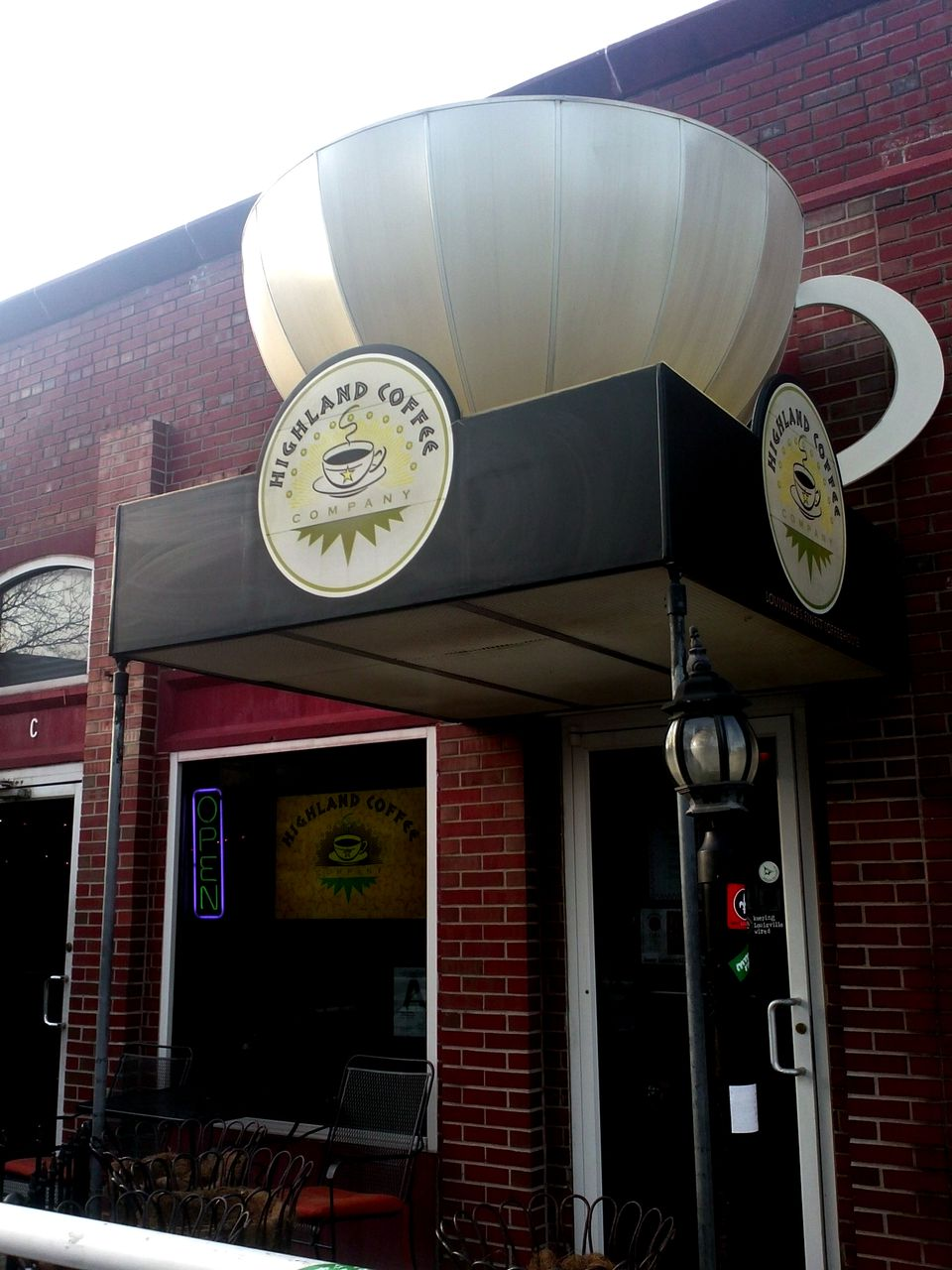 Highland Coffee in Louisville, KY