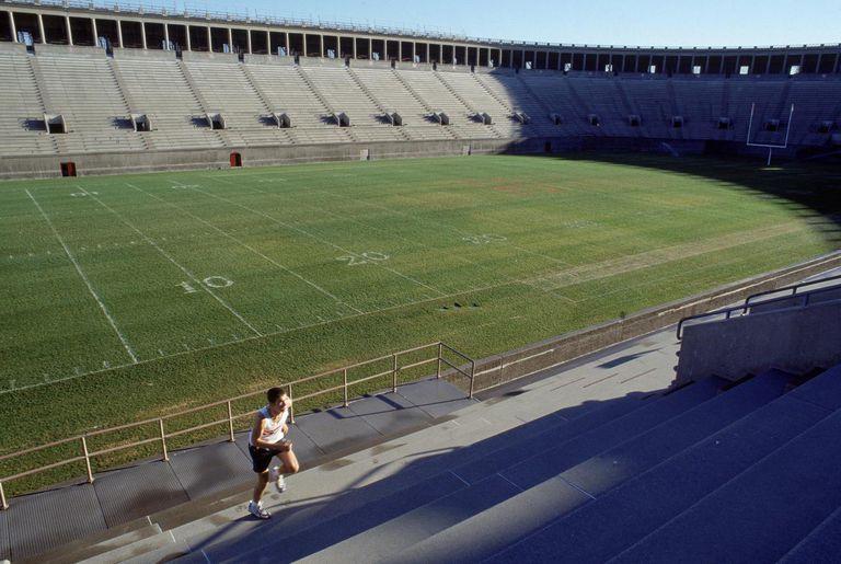 Student athlete training, Cambridge, MA