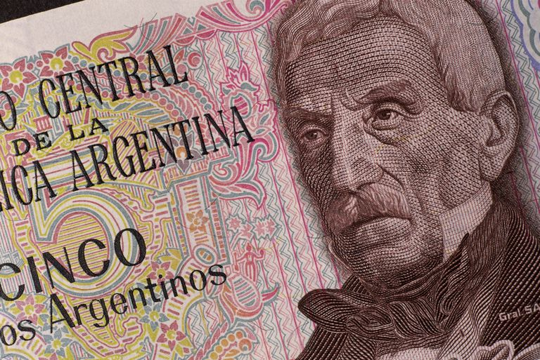 Argentinean bank note