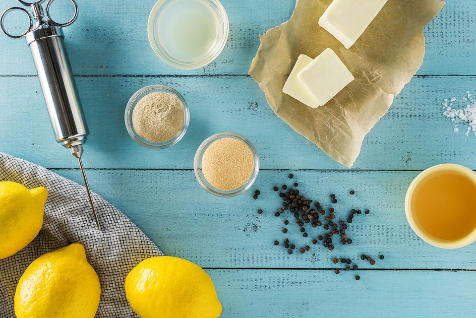 ingredients for butter based injection