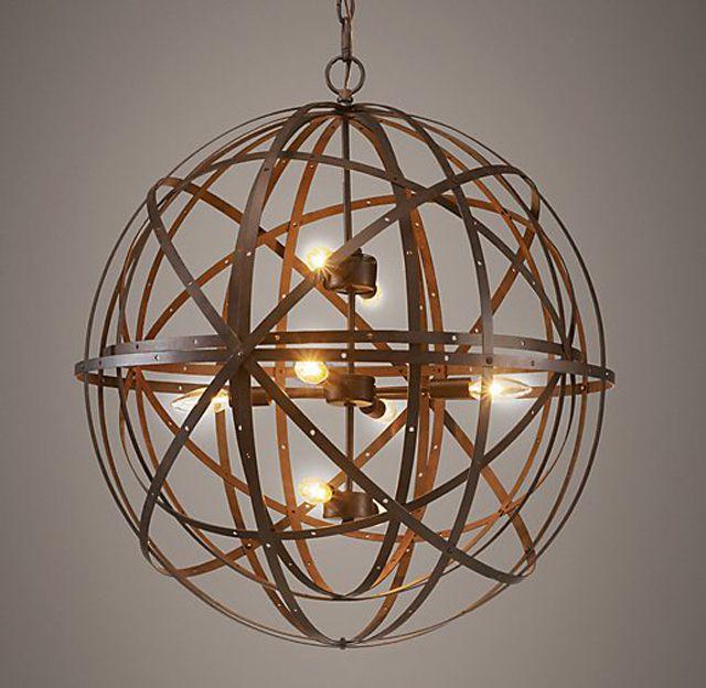 sphere lighting fixture. orbital sphere pendant lighting fixture