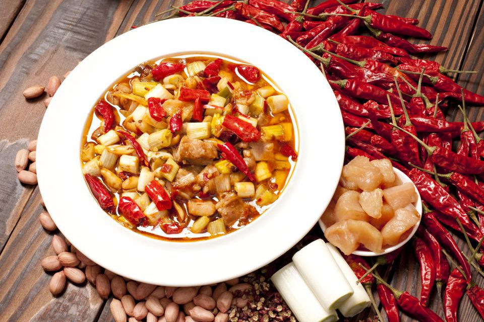 Kung Pao Chicken and its ingredients