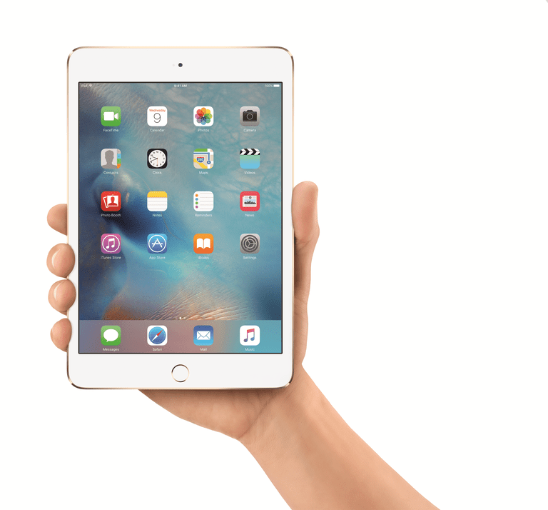 The iPad Mini 4