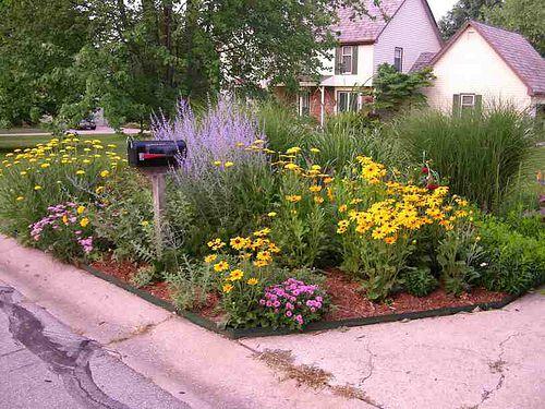 large mailbox garden - Flower Garden Ideas Pictures