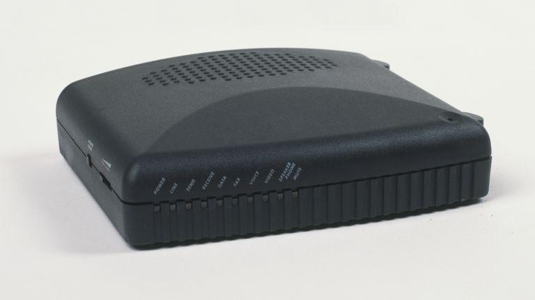 A fax modem