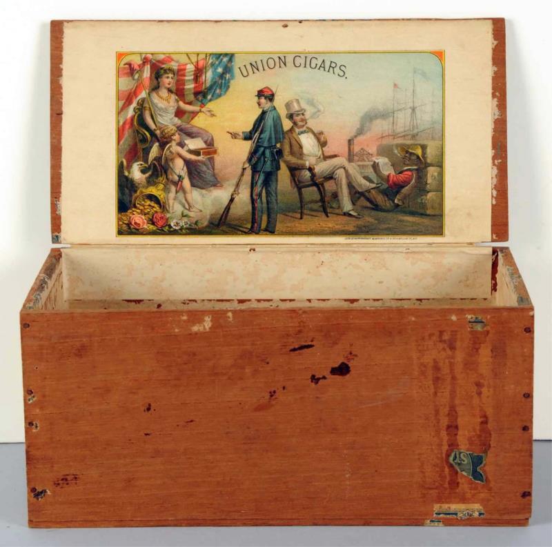 Union Cigars Box, c. 1900