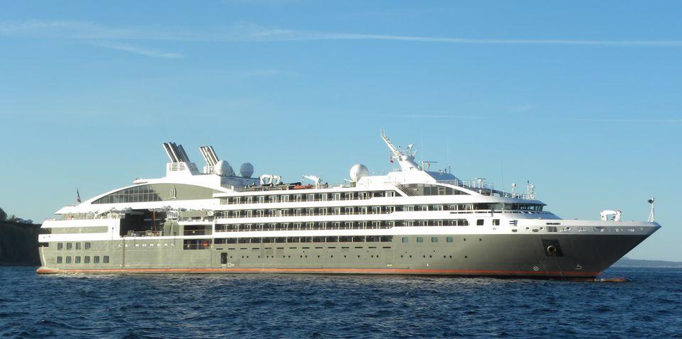 Le Boreal cruise ship of Ponant