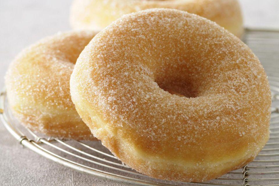 Homemade Plain Cake Doughnut Recipe