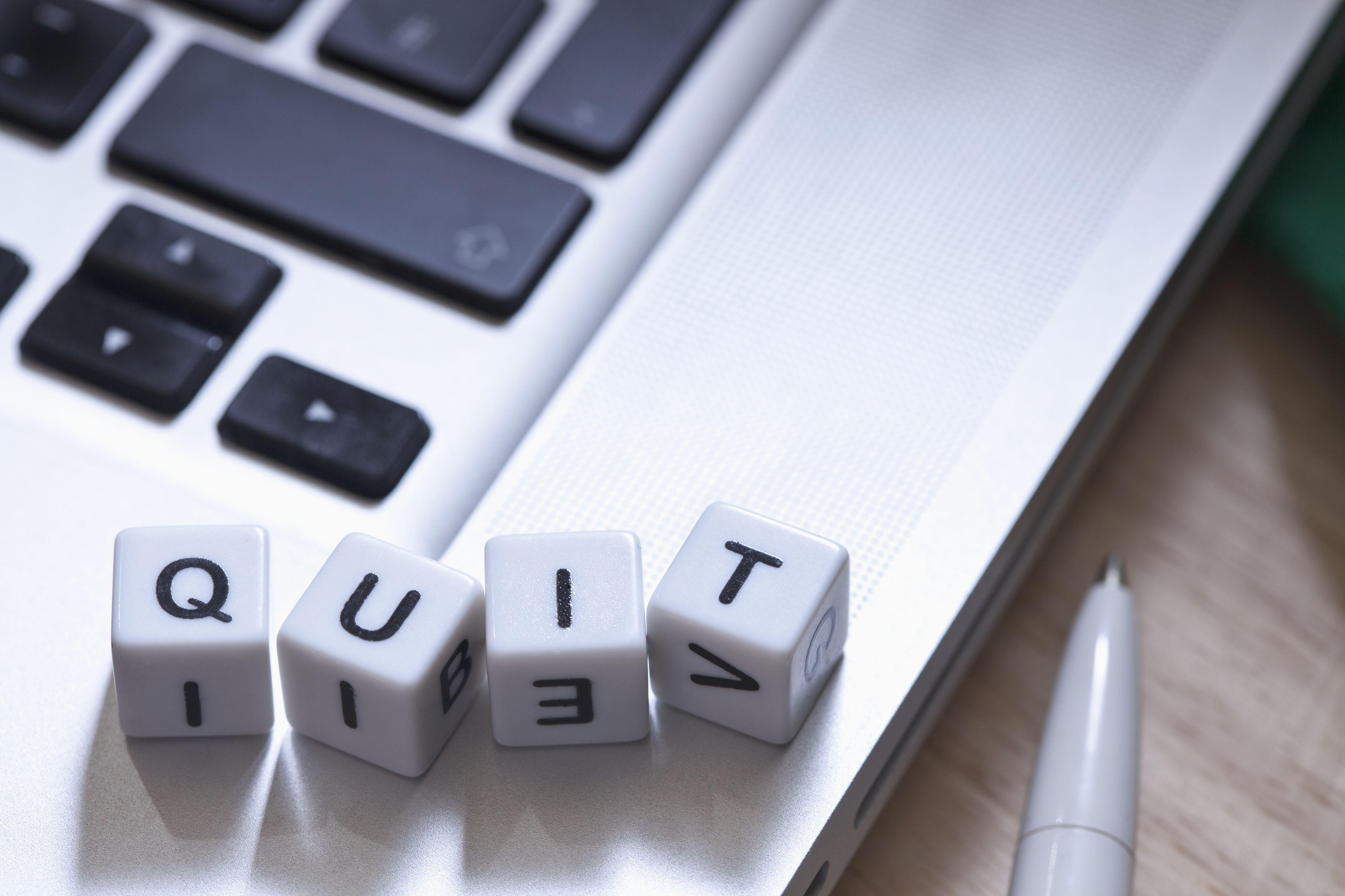 quit letter samples