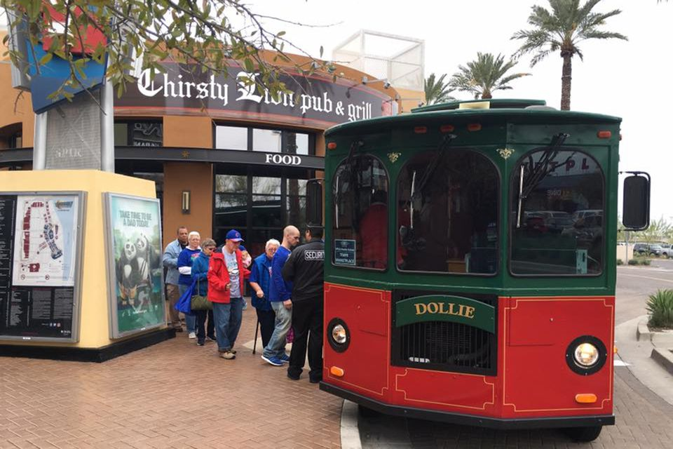 Tempe Marketplace trolley