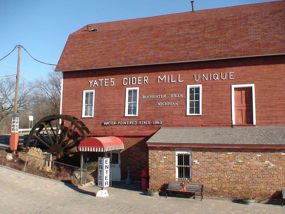 Yates Cider Mill Rochester Hills, Michigan