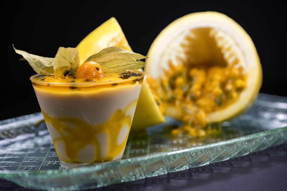 Recipe For Passion Fruit Mousse A Tropical Treat