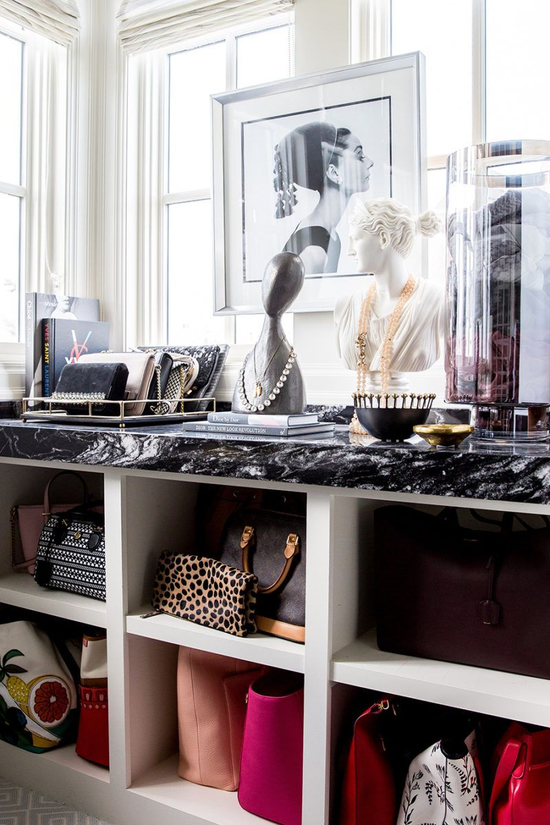 Easy Handbag Storage Ideas