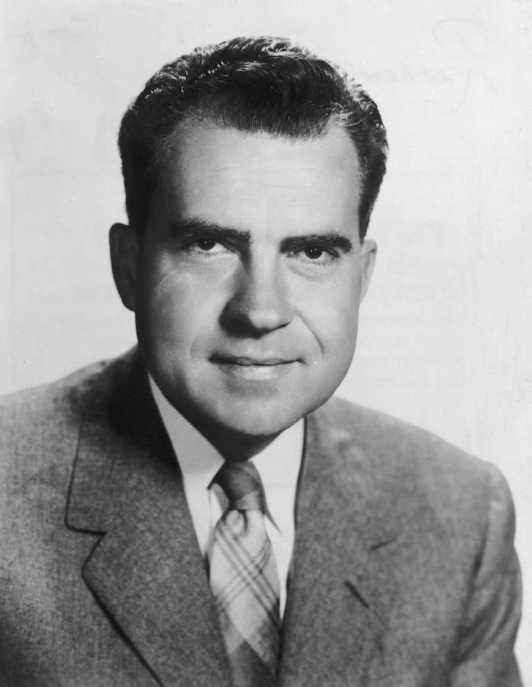 Picture of U.S. President Richard Nixon.