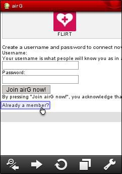 How to Log in to AirG and Recover a Lost Password