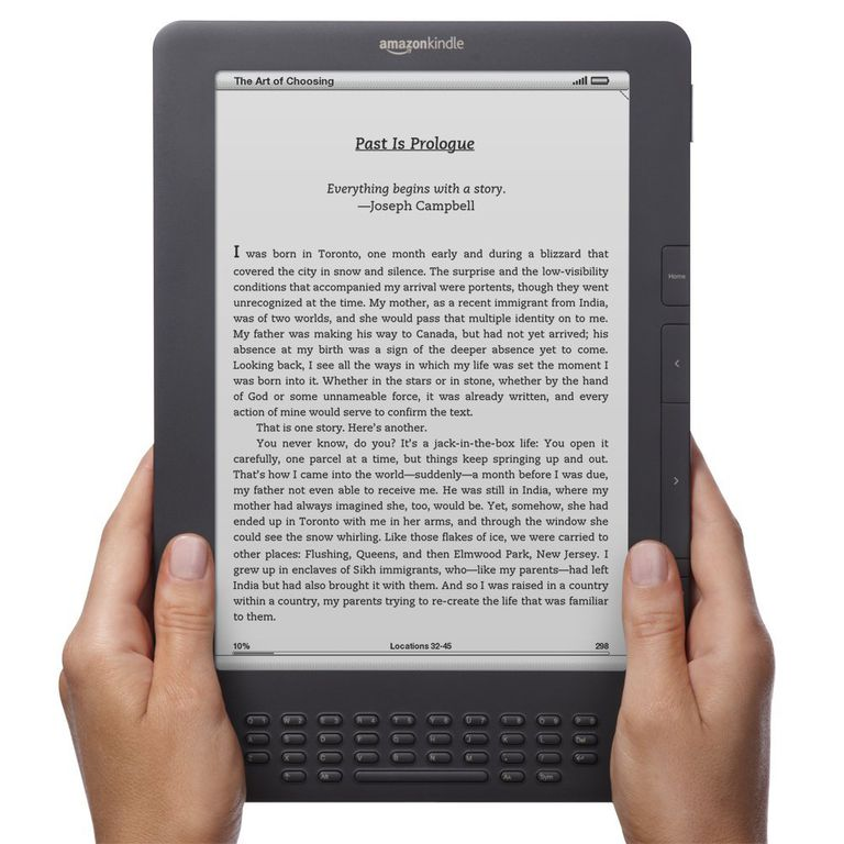 Amazon Launches Two New Kindle E-Book Readers