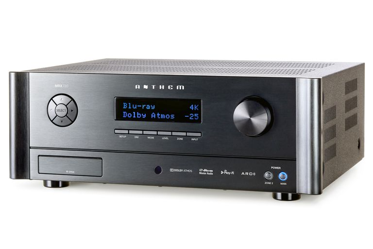 Anthem MRX 720 Home Theater Receiver - Front View