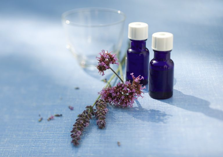 lavender and tea tree oil