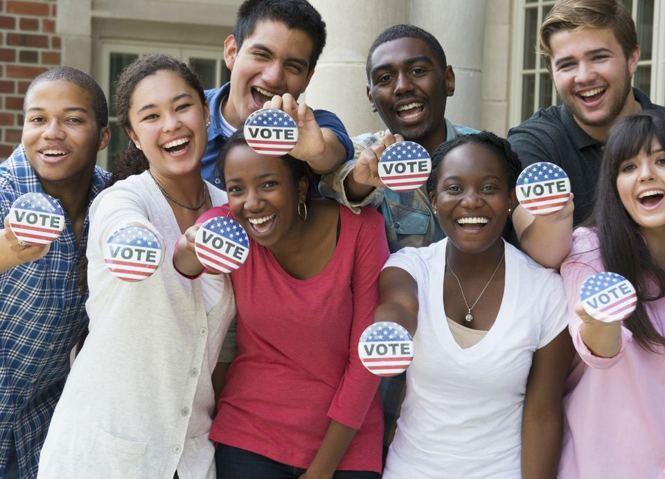 Encourage your teenager to vote.