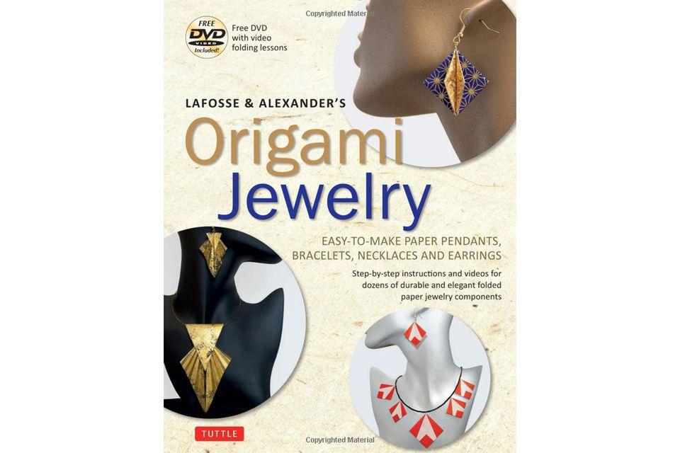 origami jewelry book cover