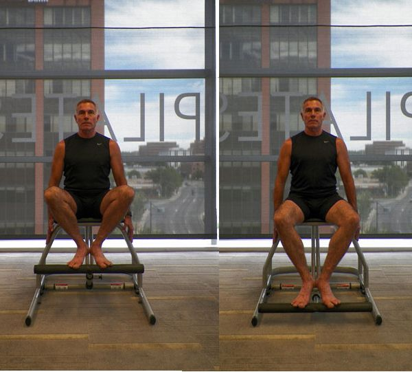 lower body chair workout